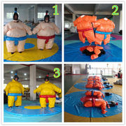 Wrestling Sumo Suit Adult Pair Wrestler Dress Sport Entertainment Costume