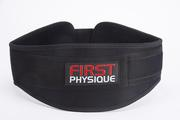 WEIGHT LIFTING GYM BELT NEOPRENE - 6 INCH VELCRO FASTENING & NYLON STR